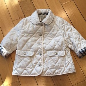 Burberry beige 18 months jacket in good condition